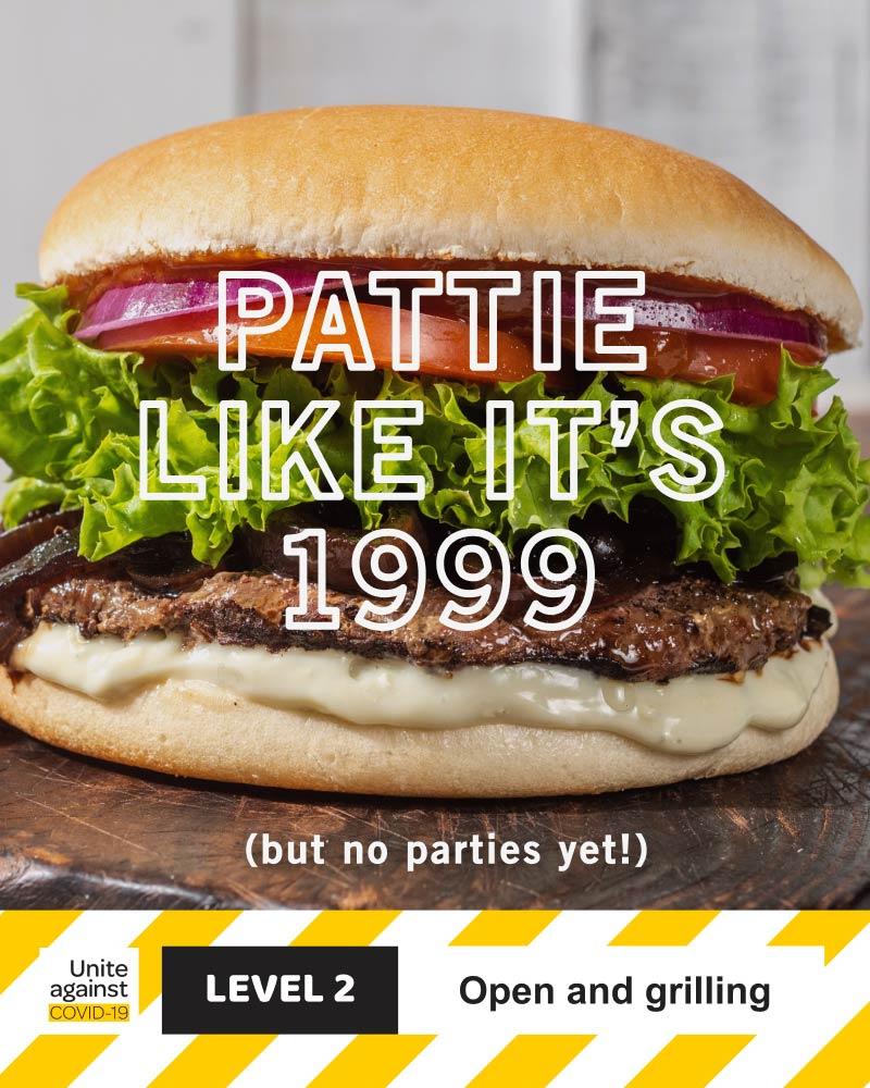 Pattie like it's 1999